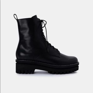 Dolce Vita | Prym Boots in Black Leather